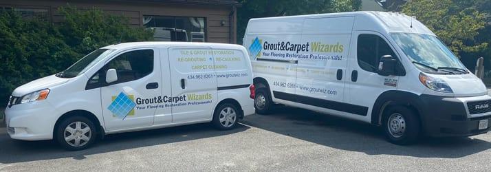 Grout & Carpet Wizards Inc Van